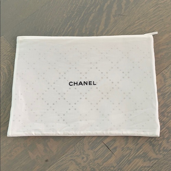 Chanel fabric pouch